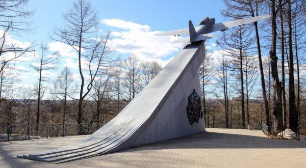 Памятник самолёту ИЛ-2 в Истре