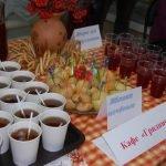 Дегустационный стол ресторана сербской кухни «Гурман»