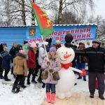 Конкурс снеговиков на празднике «День снега»