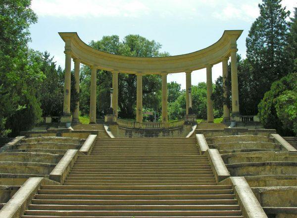 Каскадная лестница в Кисловодске