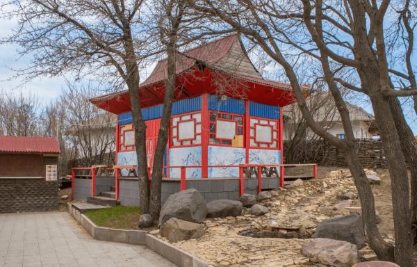 Корейский сад камней