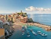 Курортный город Римини на берегу моря