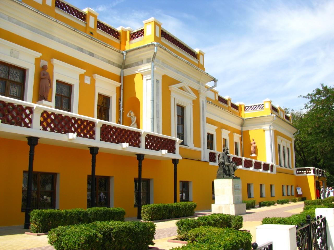 Единый музейный квартал создадут на базе галереи Айвазовского в Крыму