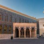 Здание мечети на территории Katara Cultural Village