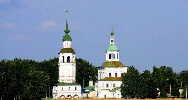 Никольская церковь в Великом Устюге