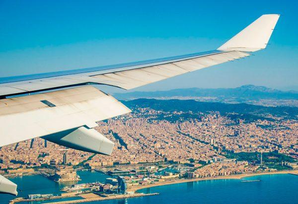 Вид на Майорку из самолёта