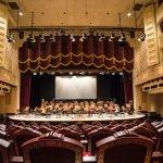 Сцена и ложи оперного театра Катара