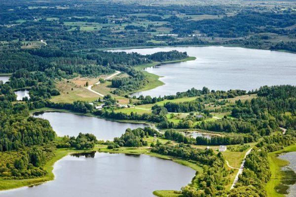 Озеро Лукна в Даугавпилсском крае