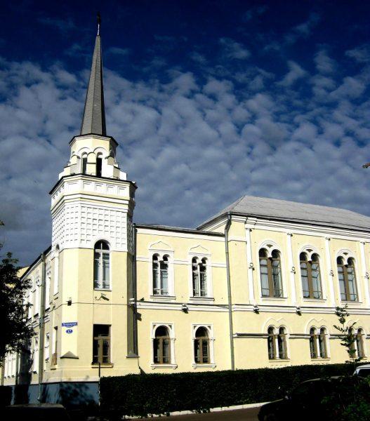 Здание бывшего государственного банка в Ржеве