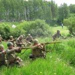 Реконструкция наступления советских войск