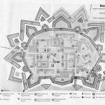 Туристическая карта Динабургской крепости