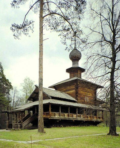 Храм Богоявления Господня из Семёновского