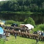 Палаточный лагерь фестиваля «Ржевский выступ»