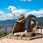 Памятник енисейскому осетру (Царь-рыба)