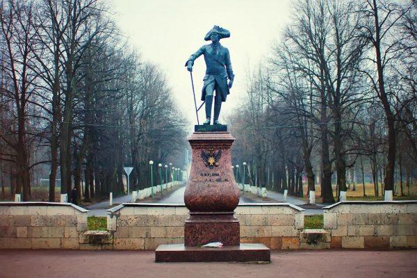 Памятник Павлу I в Гатчине