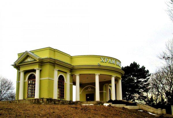 Павильон «Храм воздуха» в Кисловодске