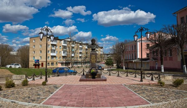 Площадь Коммуны в Ржеве