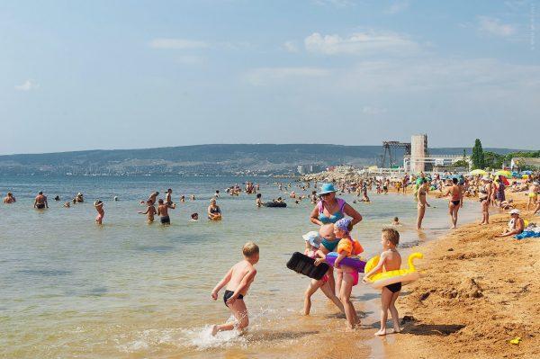 Пляж «Детский» в Феодосии