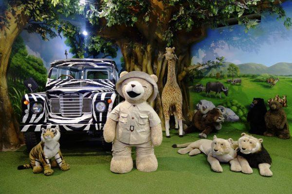 Плюшевые игрушки в одном из залов музея Тедди