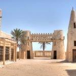 Постройки древнего города в пустыне