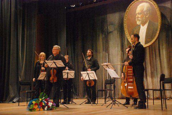 Празднование дня рождения Чайковского