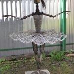 Скульптура в виде балерины в музее Жарова