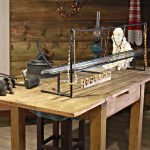Рабочий стол древнего мастера-стеклодува