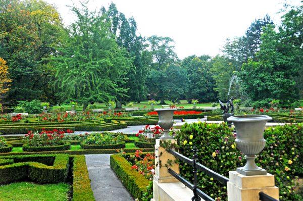 Сады Вилянувского дворца