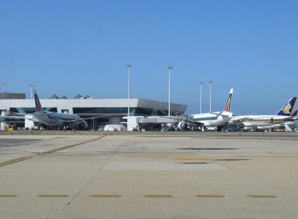 Самолёты в аэропорту Римини