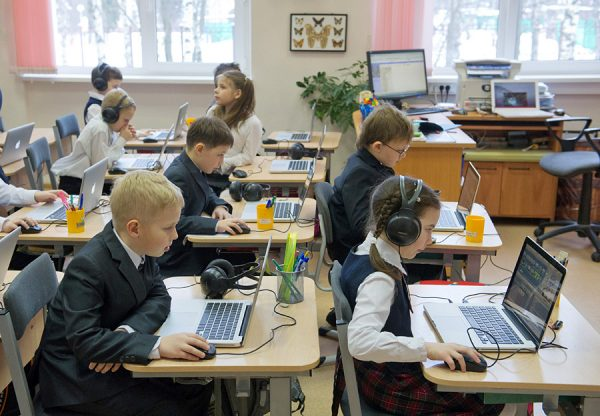 Иностранные школьники в Корее