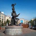 Скульптурная композиция «Бременские музыканты»
