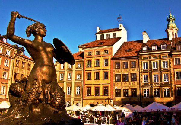 Статуя Русалки
