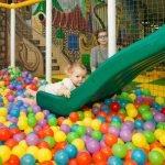 Сухой бассейн с шариками в центре «Детский рай»