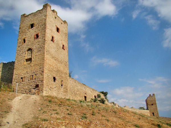 Башня Климента VI в Феодосии