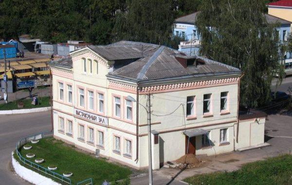 Здание выставочного зала в Ржеве