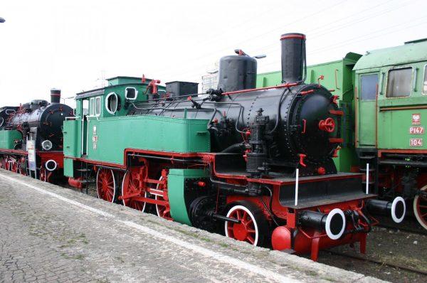 В железнодорожном музее