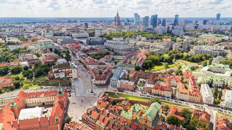 Старая и новая столица: прогулки по Варшаве