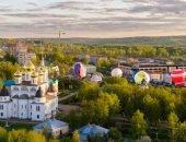 Вид на Дмитров с высоты