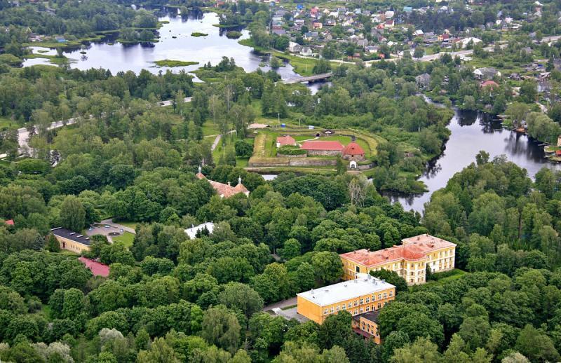 Достопримечательности города Приозёрск