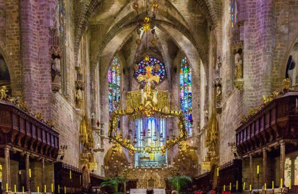Алтарь Кафедрального собора Санта-Мария