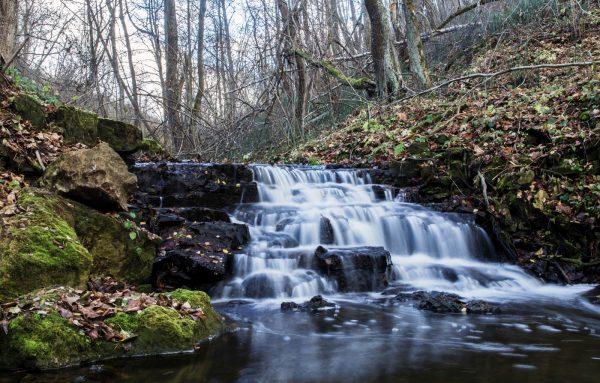 Водопад на Гремухе