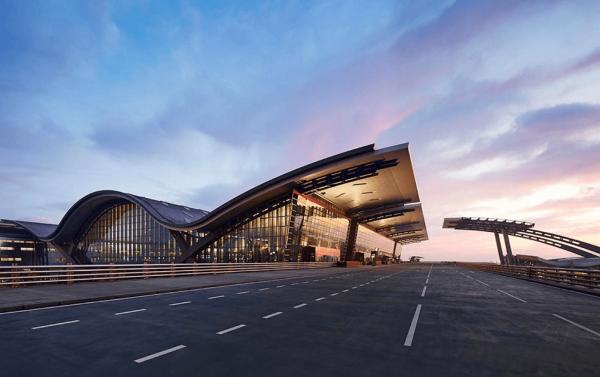 Здание аэропорта в Дохе