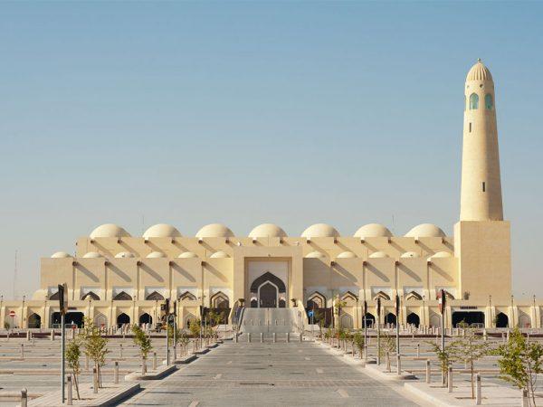 Здание Государственной мечети Дохи