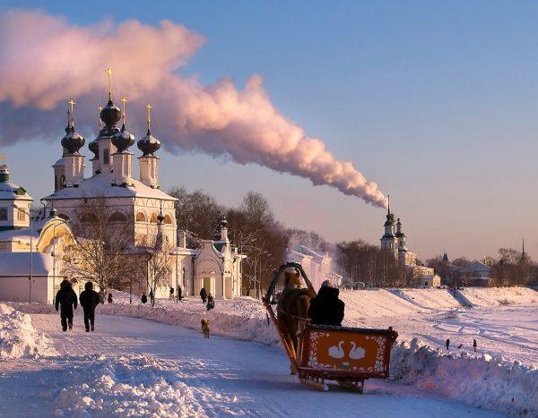 Зимний Великий Устюг