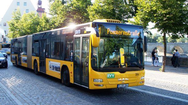 Автобус в Регенсбурге