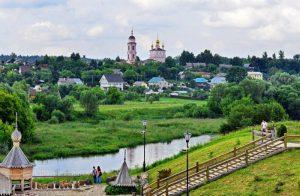 Боровск с высоты
