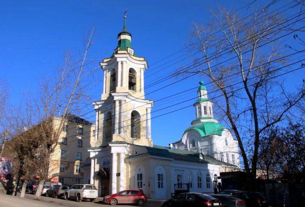 Царево-Константиновская Знаменская церковь