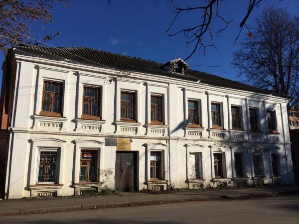 Дом XIX века на Бауманской