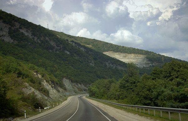Дорога к Туапсе