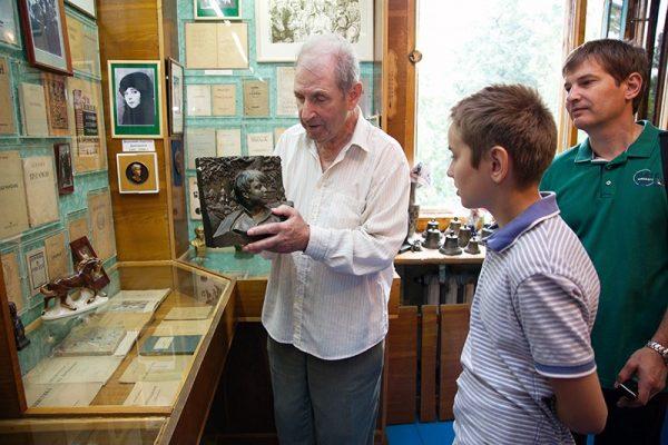Экскурсия по музею Сергея Есенина